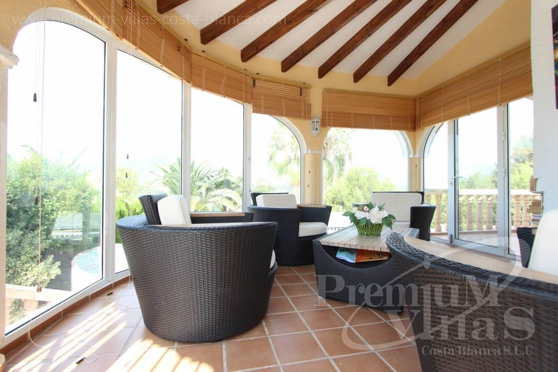 - C1300 - Villa with mountain views near the sea in Calpe for sale 4