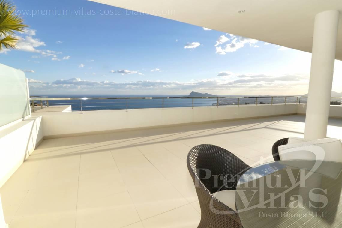 Buy apartment with large terrace in Altea Hills Costa Blanca - A0604 - Luxury apartment in Altea Hills residential Bahia 2 3