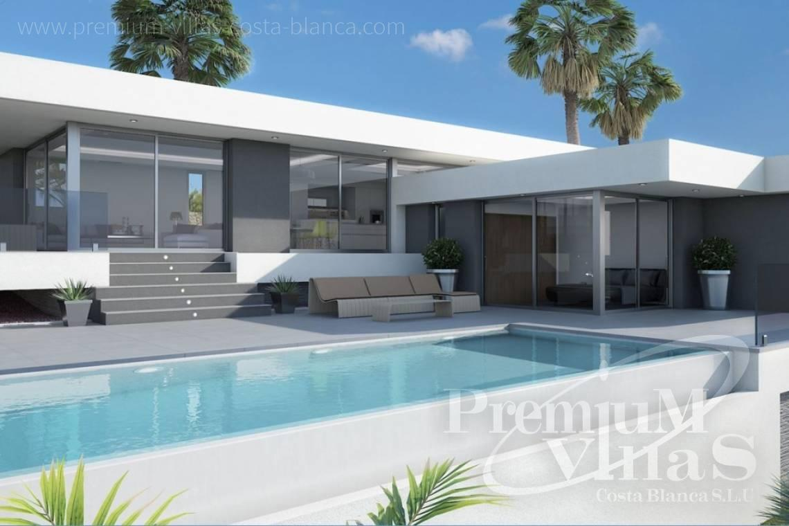 Modern Villa for sale in Calpe Costa Blanca - C2103 - Modern house built on one floor with breathtaking sea views 3