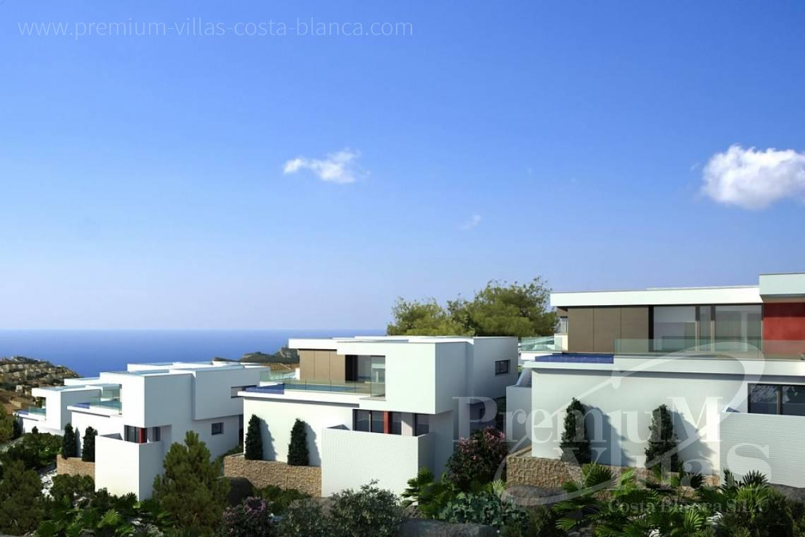Villa house for sale in Benitachell Costa Blanca - C2025 - Modern new build with fantastic sea views 4