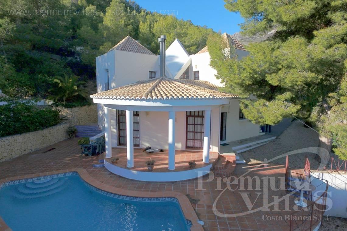 - C2132 - House surrounded by nature with beautiful sea and mountain views in Altea. 20