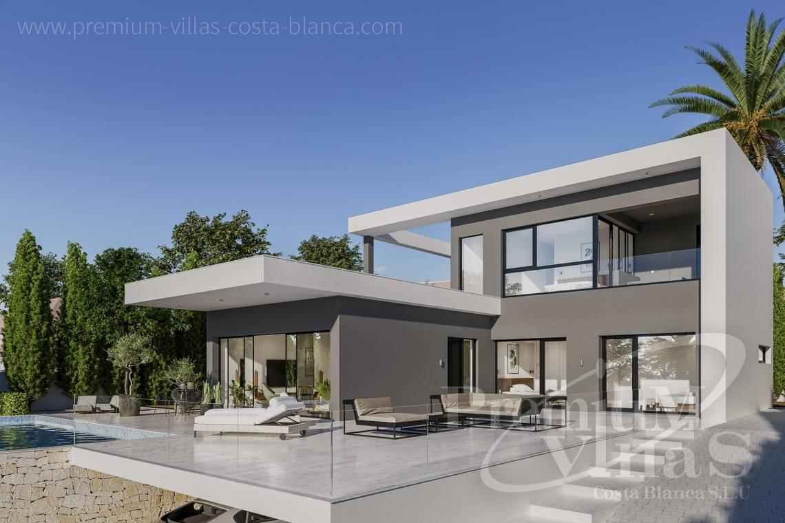 Modern villa for sale in the urbanization Ortenbach in Calpe - C2240 - Modern villa in urbanization Ortenbach in Calpe 10