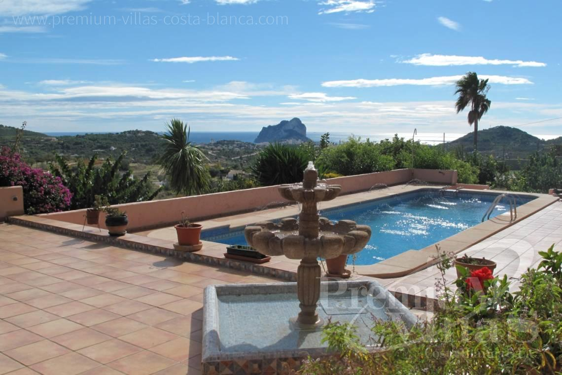 - C1835 - Well maintained stone finca in Benissa with nice sea views! 2
