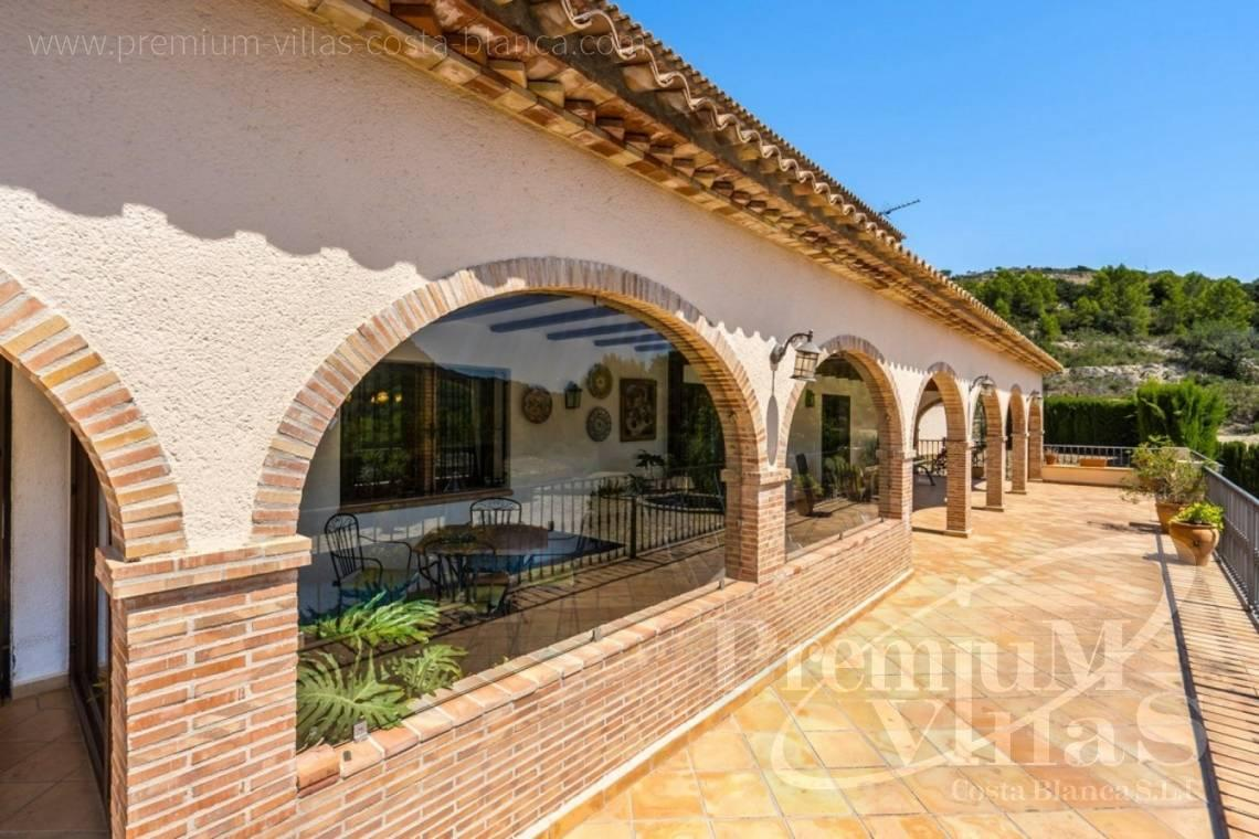 finca, land house for sale Benissa Costa Blanca - C2209 - Magnificent finca in Benissa with 10.000m2 of land with stunning mountain views 4