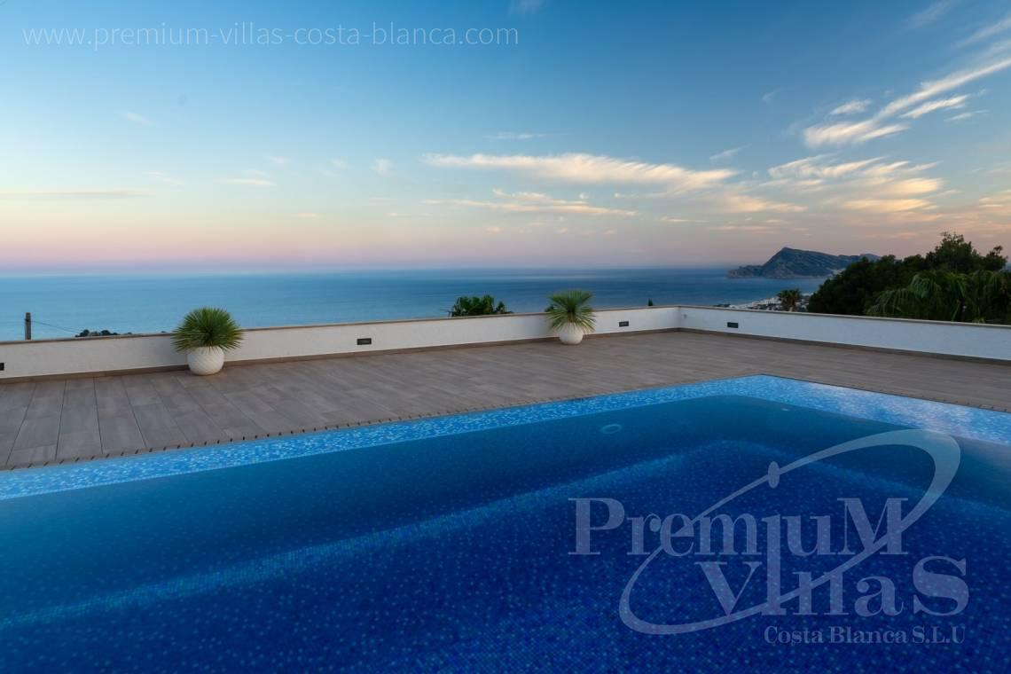 Modern sea view villa for sale in Altea Costa Blanca - C2316 - Modern luxury villa with sea views in Altea 7