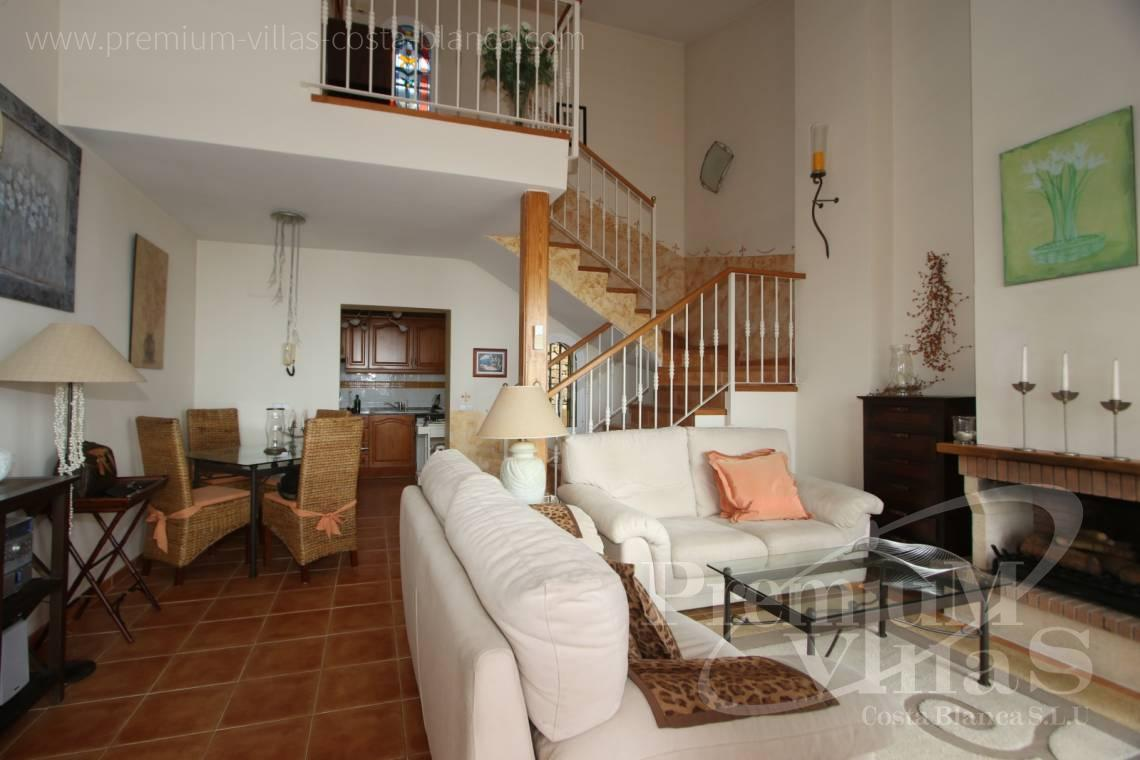 - C2086 - Cosy townhouse with wonderful sea views in the Sierra of Altea 13