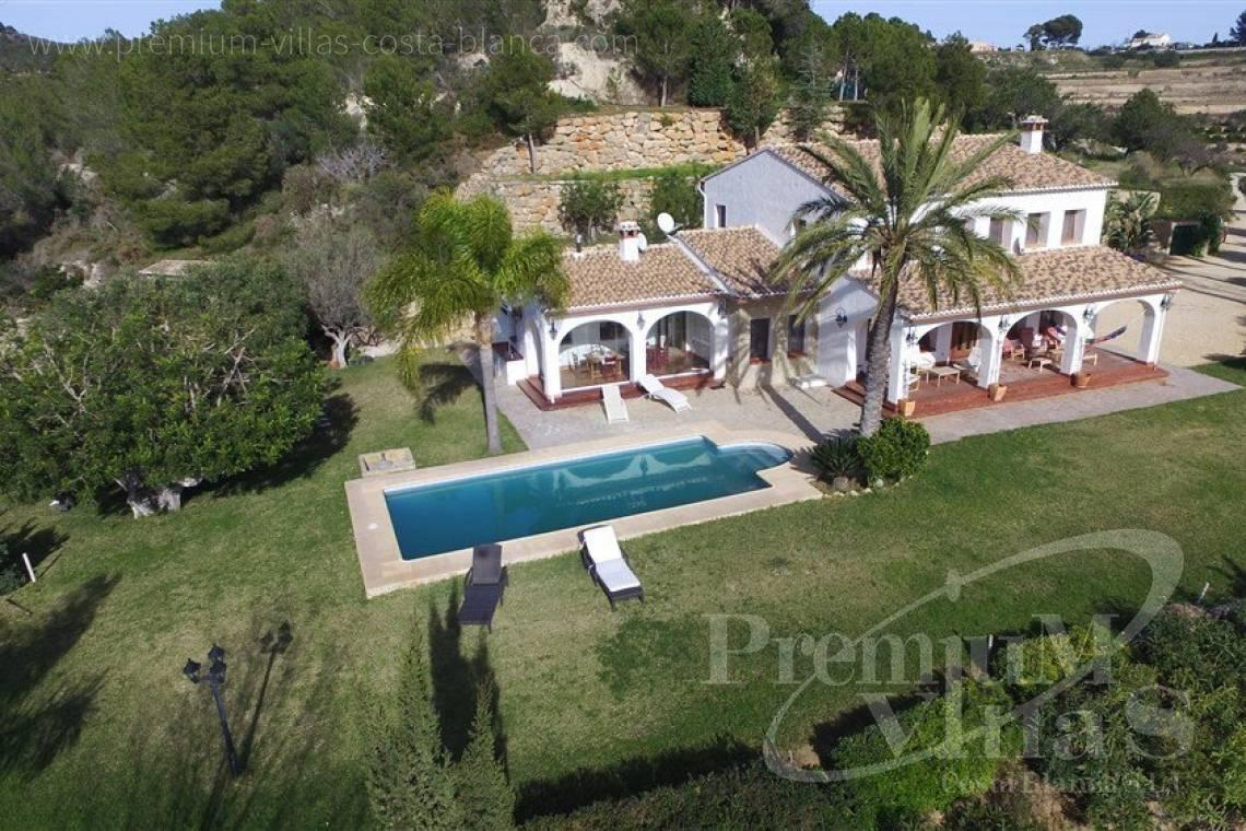 buy finca, land house Benissa Costa Blanca - CB1973 - Finca for sale in Benissa with some sea view 10