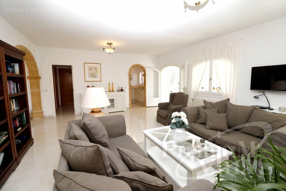 - C2265 - Sea view mediterranean villa 3 bedrooms in Calpe 12