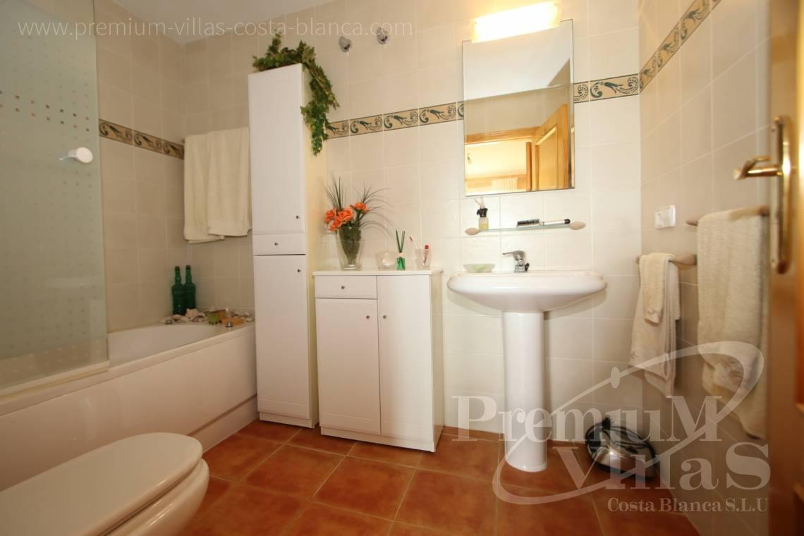 - C2086 - Cosy townhouse with wonderful sea views in the Sierra of Altea 9