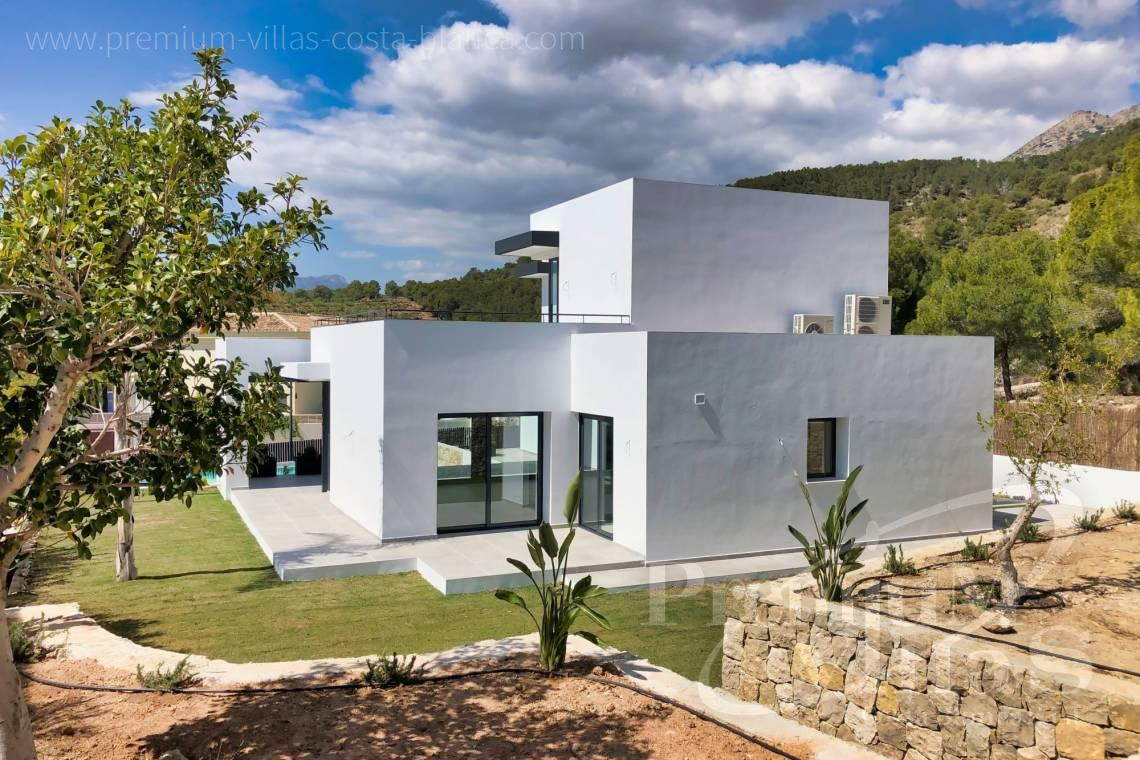 Modern villa for sale near Don Cayo Golf Club in Altea Alicante - C2283 - New built modern villa in Altea La Vella 27