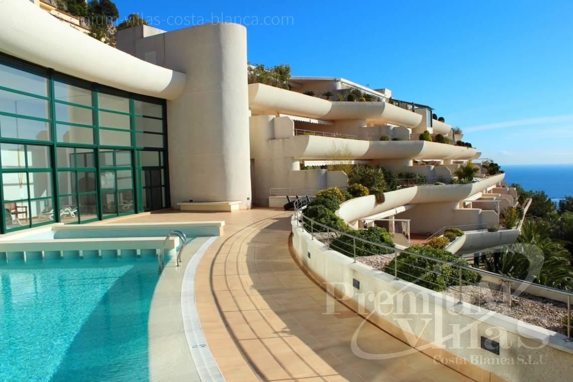 - A0563 - Opportunity! Penthouse in Altea Hills with 100m² terraces and a perfect sea view 2