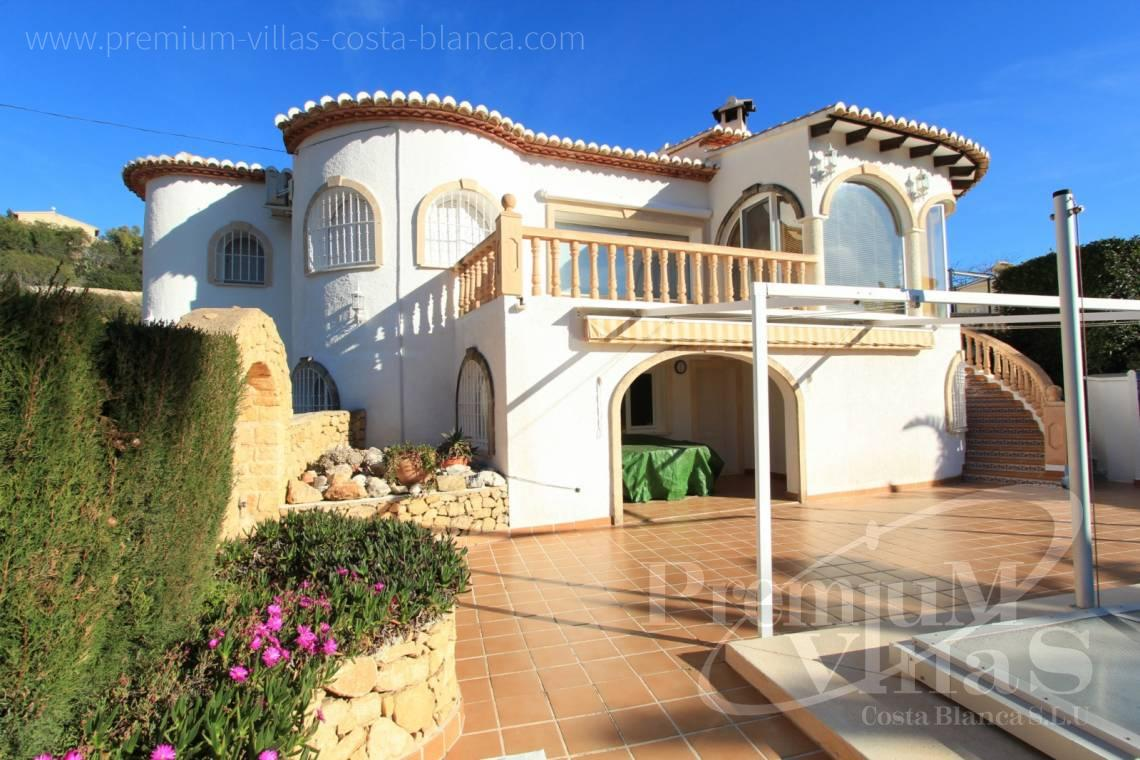 House villa for sale Calpe Costa Blanca - C1300 - Villa with mountain views near the sea in Calpe for sale 1