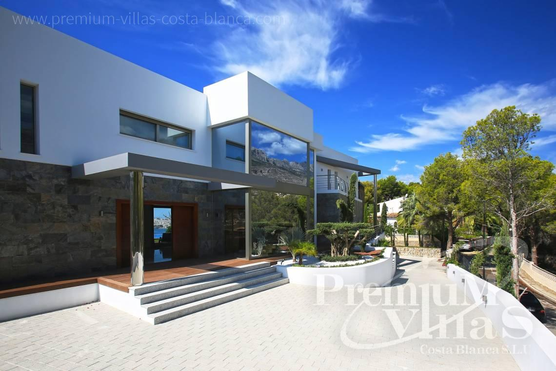 modern villas for sale Costa Blanca Spain - C1531 - Sea front villa in Altea! A unique luxury villa at the Costa Blanca 25