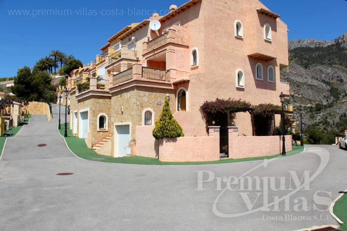 - C2086 - Cosy townhouse with wonderful sea views in the Sierra of Altea 22