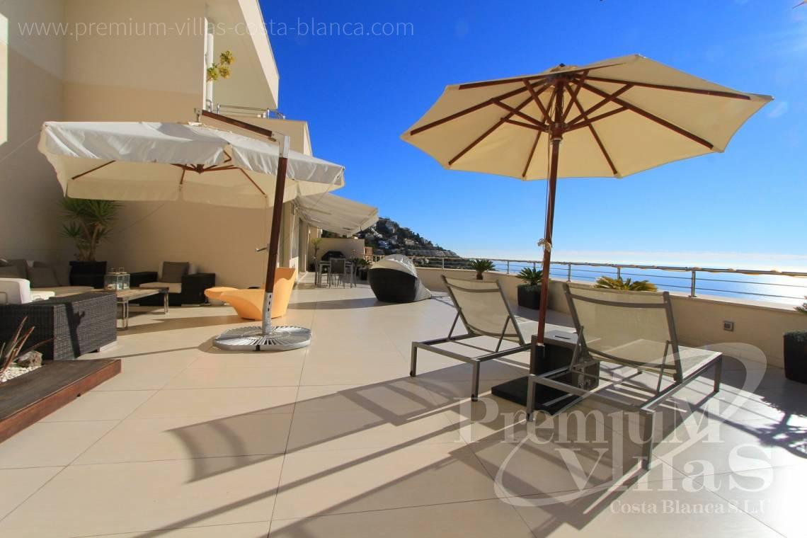 buy apartment penthouse Altea Calpe Costa Blanca - A0434 - Modern apartment in Altea, Costa Blanca 1