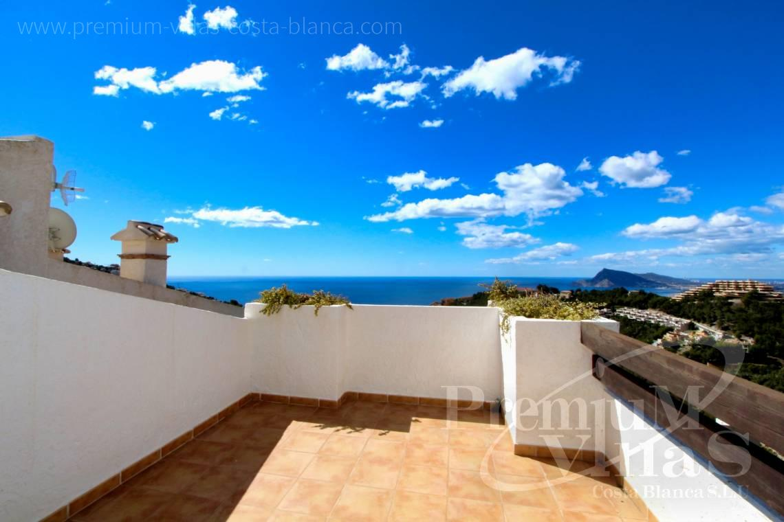Villas with sea views in Altea Hills - C1781 - Townhouse with fantastic sea views in Altea Hills 2