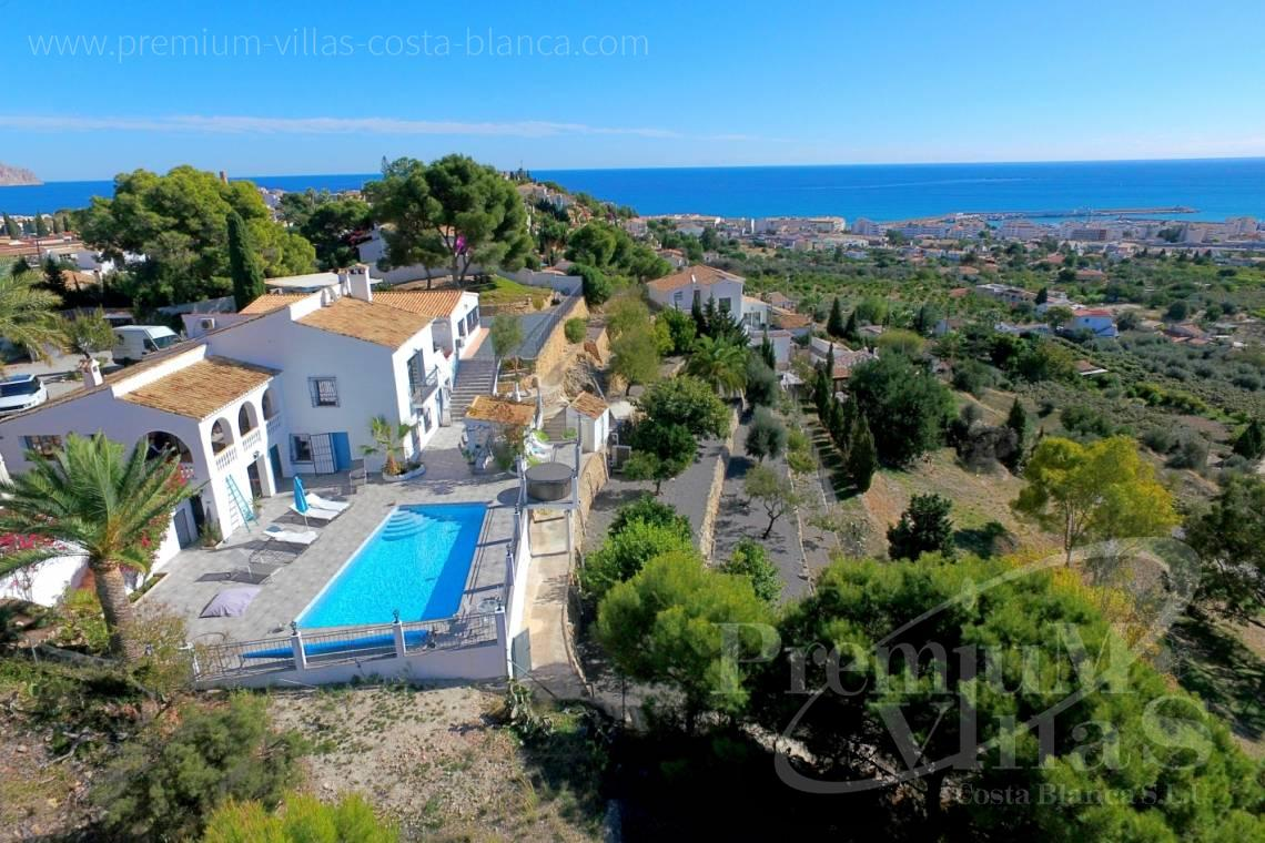 house villa for sale Altea Costa Blanca Spain - C2108 - Amazing villa near Altea Old town with sea views  21