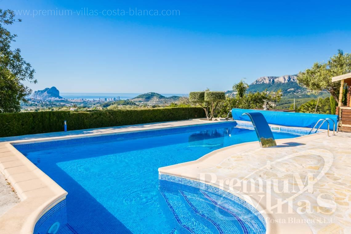 finca, land house for sale Benissa Costa Blanca - C2170 - Beautiful finca in Benissa with breathtaking sea views 1