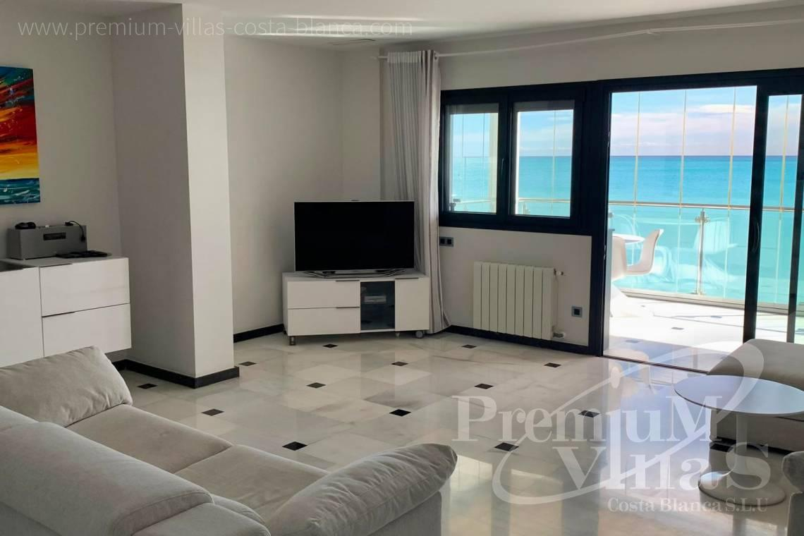 Buy penthouse apartment sea front Altea Calpe Costa Blanca - A0657 - First line apartment in Cap Negret, Altea 10