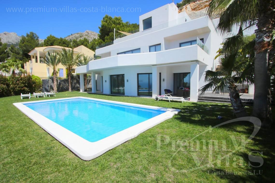 Buy house villa property Altea Hills Costa Blanca - C2048 - Modern villa for sale with panoramic sea views in Altea Hills 27