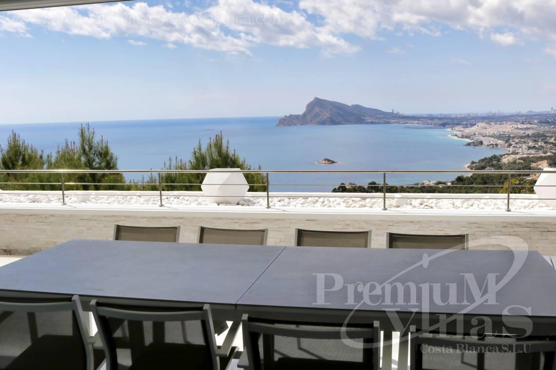 Luxury penthouse for sale in Altea Hills Costa Blanca - A0635 - Super luxury apartment with sea views in Altea Hills 1