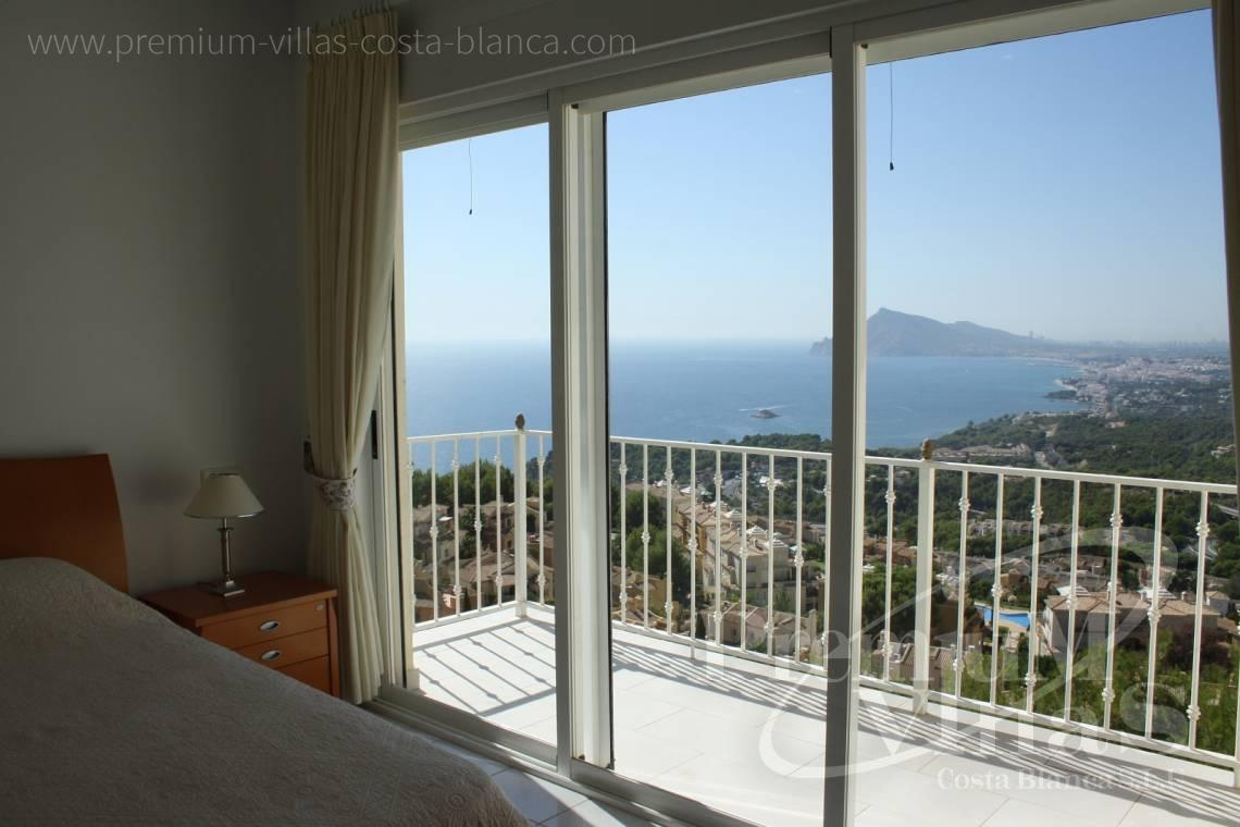 Villas for sale with sea views in Altea - C1198 - Altea Hills! Spacious villa with very nice sea views towards the coast 17
