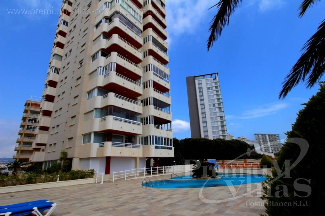 2 bedrooms front line apartment Calpe Costa Blanca - A0575 - Apartment in front of the sea with spectacular views of Ifach Rock. 2