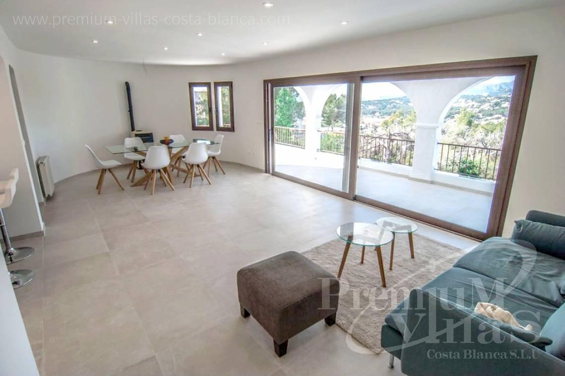 buy house villa Moraira Costa Blanca - C2152 - Refurbished house with sea views only 1.700 m from the beach and the centre of Moraira 5