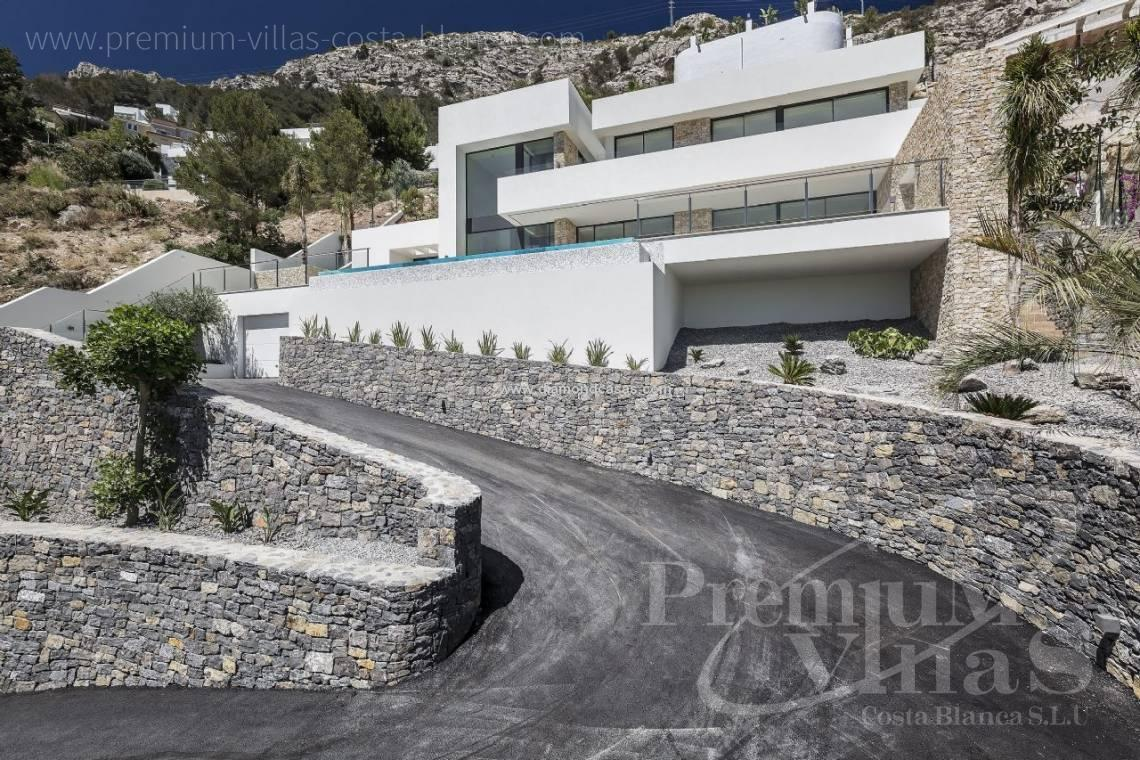 Buy house villa mansion luxury Altea Costa Blanca - C2172 - Newly built luxury villa in Altea Hills with panoramic sea views. 1