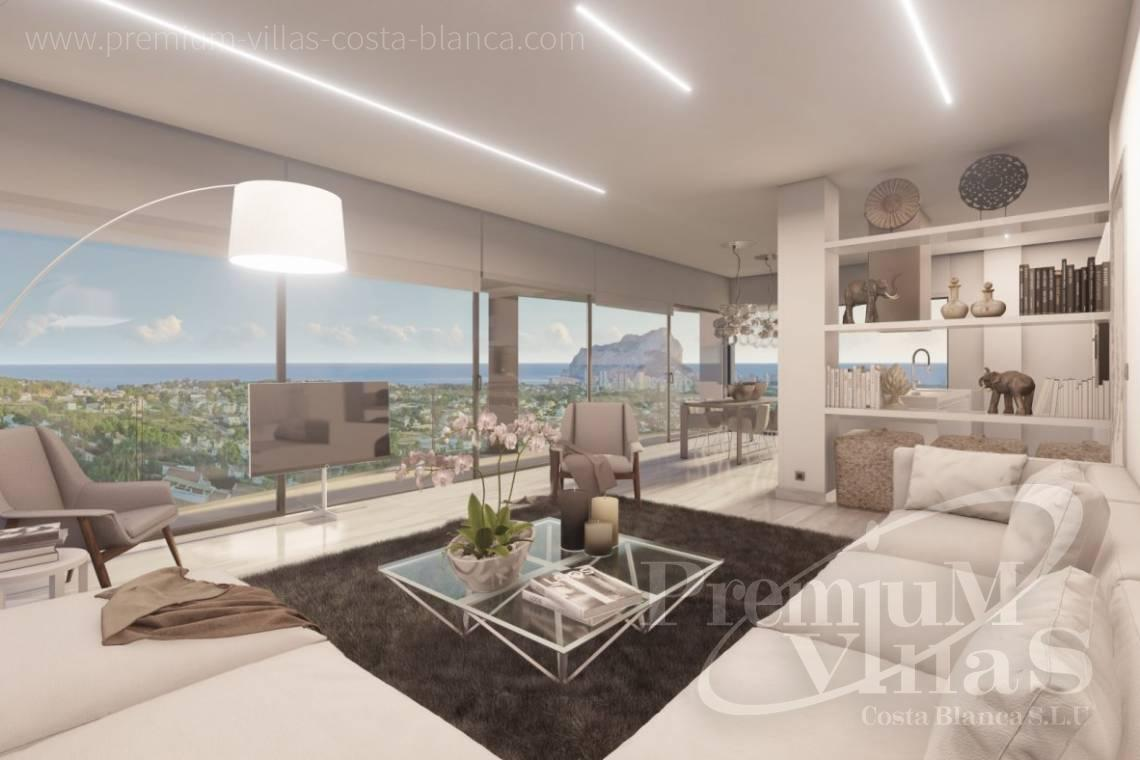 Buy modern villa with sea views in Calpe Costa Blanca - C2390 - Modern villa with elevator and sea views in Calpe 7
