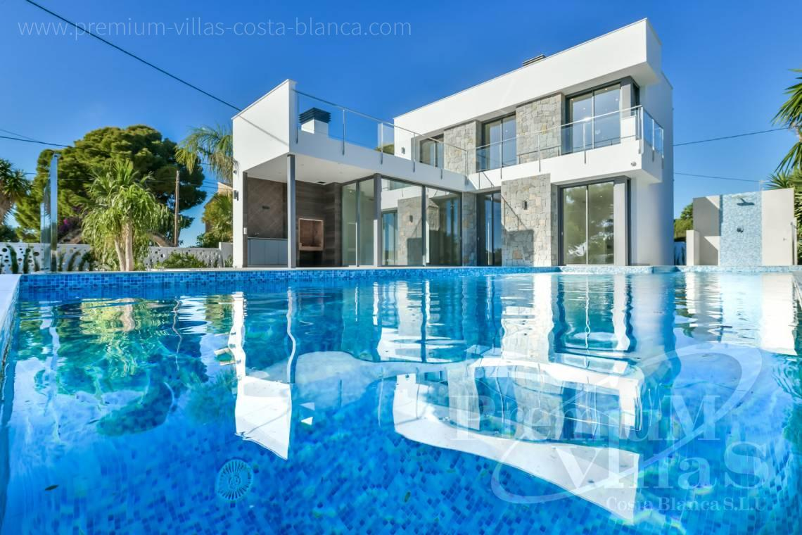 Buying a modern villa in Calpe Costa Blanca - C2368 - Modern villa with sea views in Calpe 27