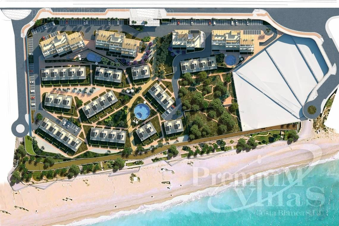Apartments  for sale at the sea front Villajoyosa  - A0459 - Brand new 2 bedroom apartments in beach front location in Villajoyosa 11