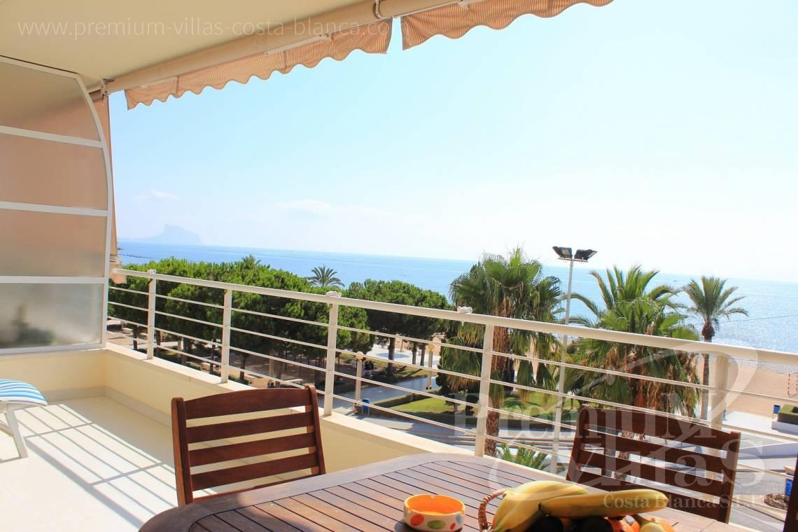 Apartment penthouse near beach sea views Altea Costa Blanca - A0398 - 1st line apartment in Altea, only 30m from the beach with great sea view 11