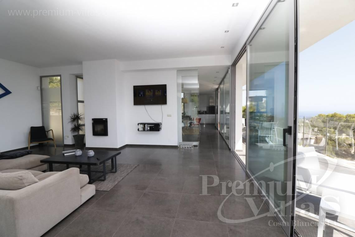 - C2325 - Modern villa with sea views in Altea La Vella 11
