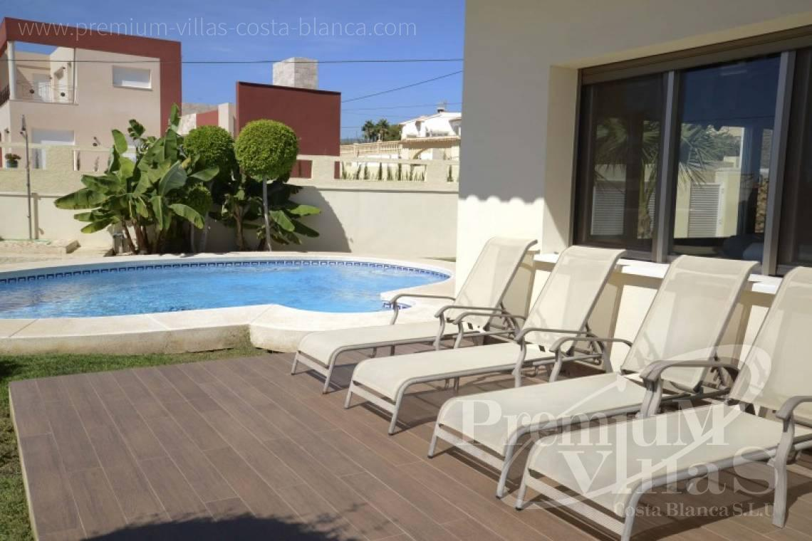 House villa for sale Calpe Costa Blanca - C2223 - Modern villa in Calpe close to the beach  17
