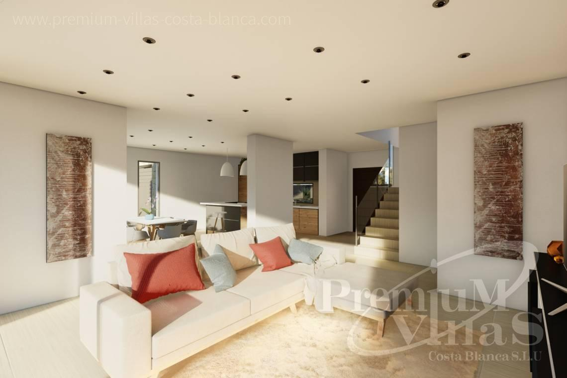 - C2312 - Modern 4 bedroom villa near the beach in Calpe 6