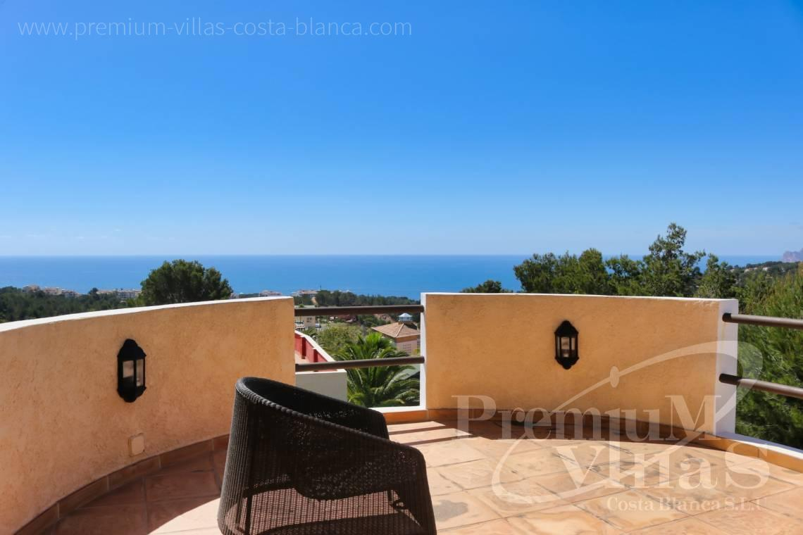 Villa with sea views for sale in Altea La Vella Spain - C2274 - 4 bedroom villa with sea views in Altea La Vella 2