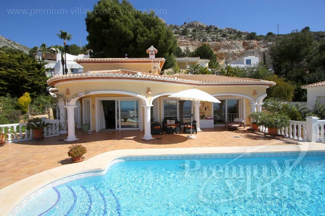 buy house villa Altea Costa Blanca - C2041 - Location, location location! Fantastic villa in Altea Hills  4