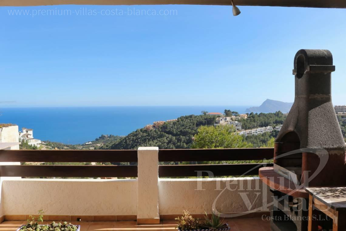 buy apartment  Altea Costa Blanca Spain - C1781 - Townhouse with fantastic sea views in Altea Hills 1