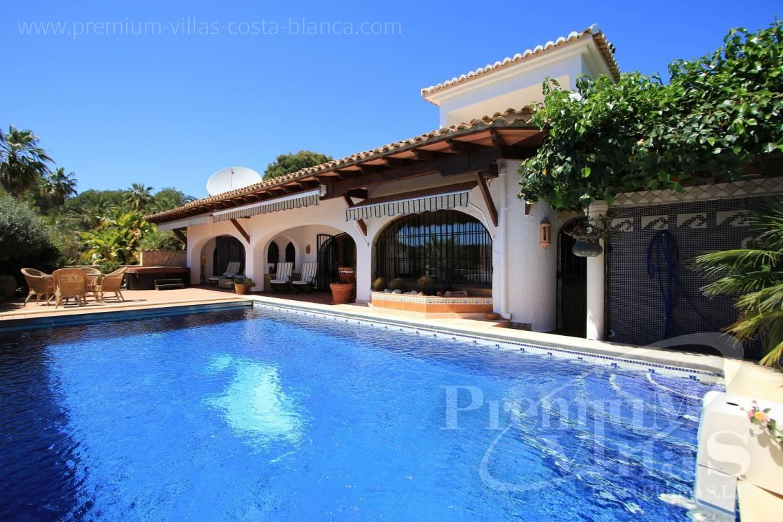 buy finca, land house Benissa Costa Blanca - C2151 - A real paradise on a double plot only 900m from the sea in Benissa 12