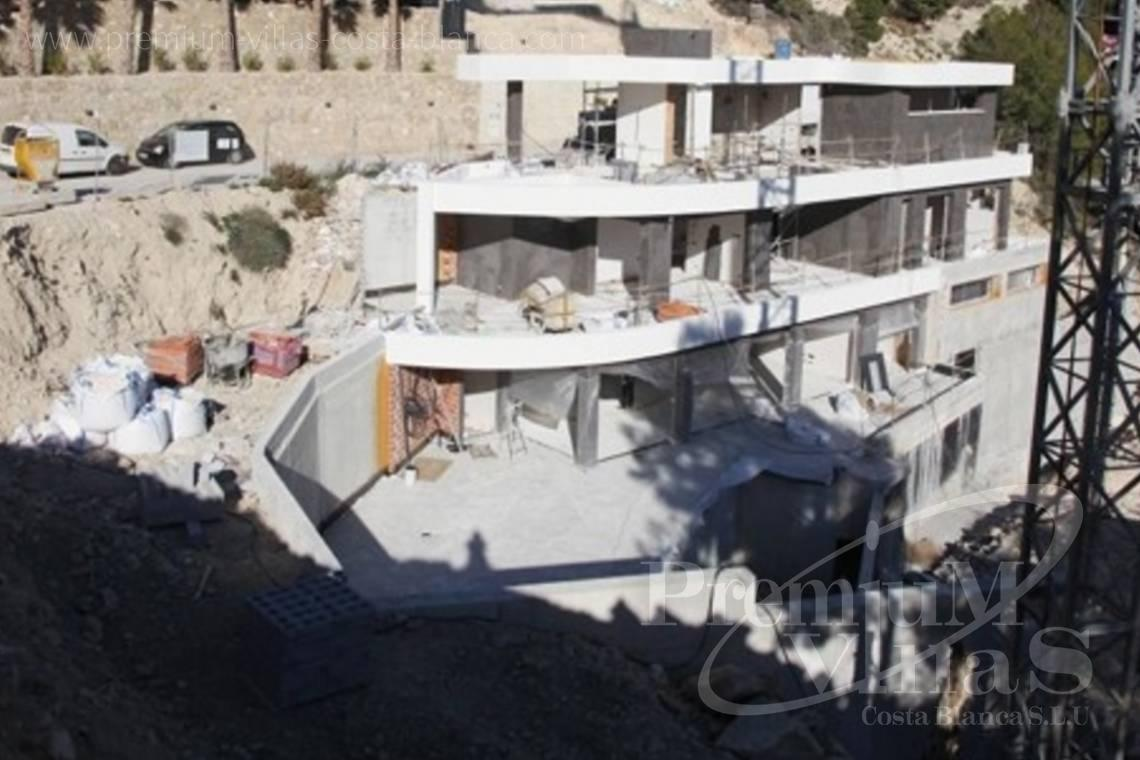 Luxury villa with elevator for sale in Benissa Costa Blanca - C2122 - New project in Benissa with panoramic views over the whole Calpe. 4