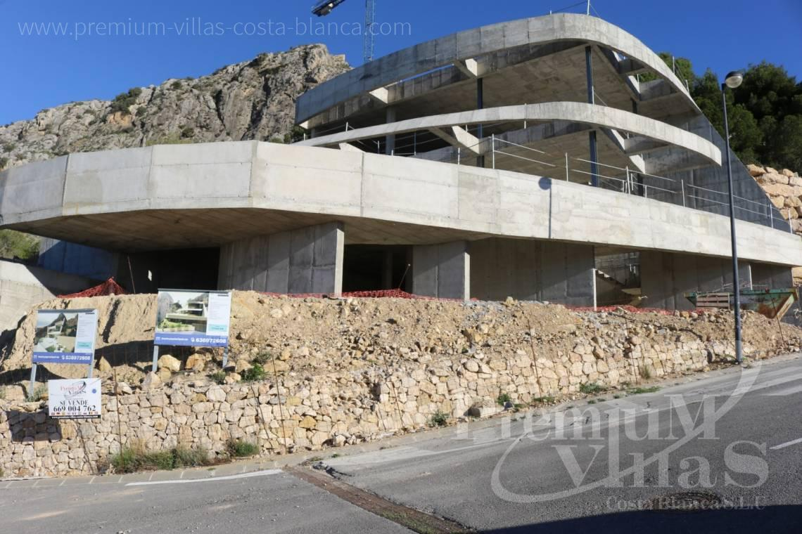 buy house villa Altea Costa Blanca Spain - C1852 - Our company builds this modern and luxury villa with amazing sea views 4
