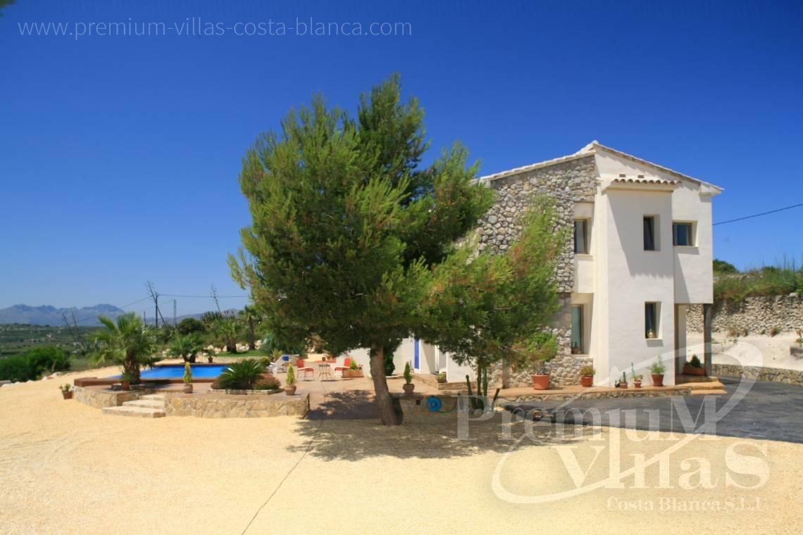 - C2199 - Moraira: Beautiful villa surrounded by vineyards with beautiful sea views. 14