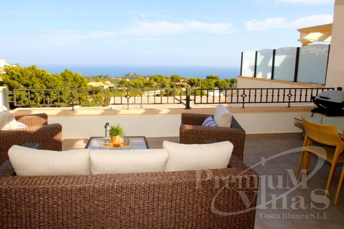 Bungalow for sale Altea Costa Blanca Spain - C2212 - Sole agent! Beautiful bungalow in Mirador de Altea 2