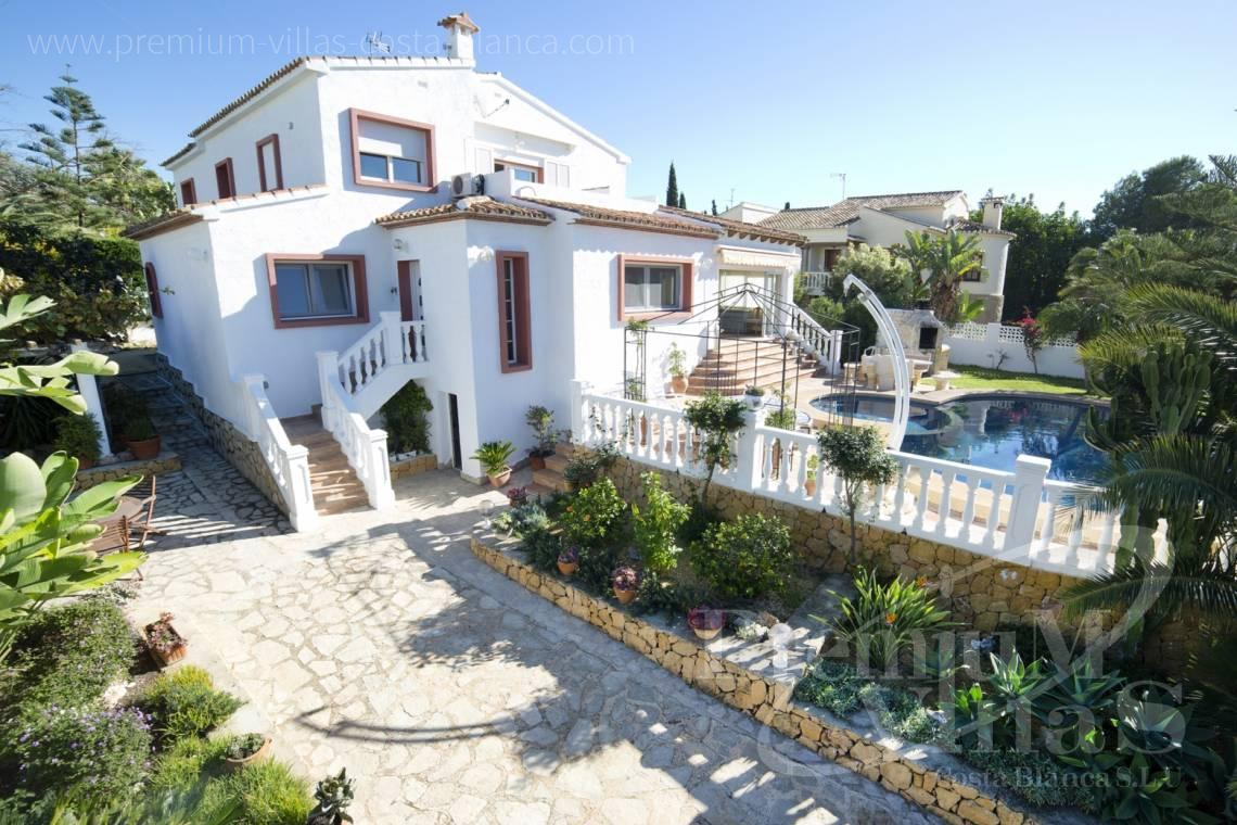 House villa for sale Calpe Costa Blanca - C2171 - Villa in Calpe with guest apartment  1