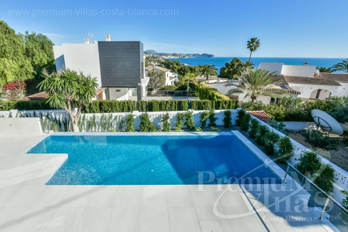 Modern villa with sea views for sale in Calalga Calpe - C2368 - Modern villa with sea views in Calpe 2