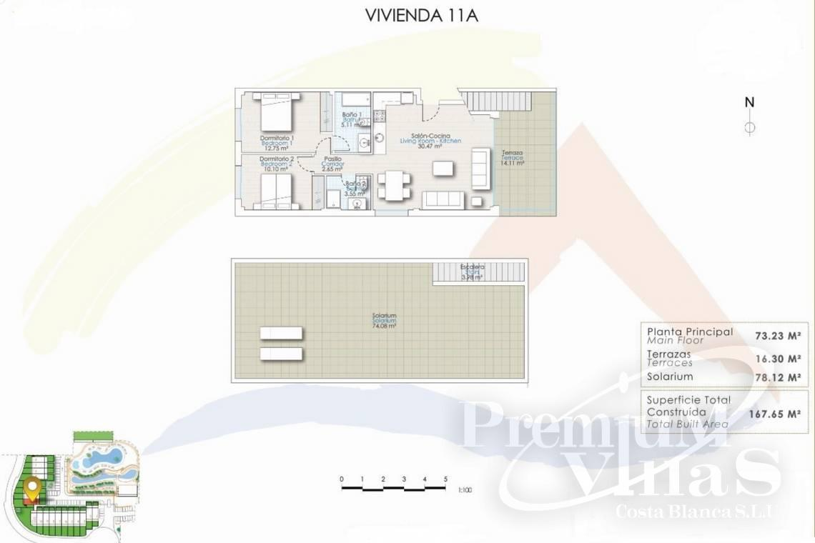 - C2228 - Terraced houses in Finestrat near Benidorm with nice sea views 29