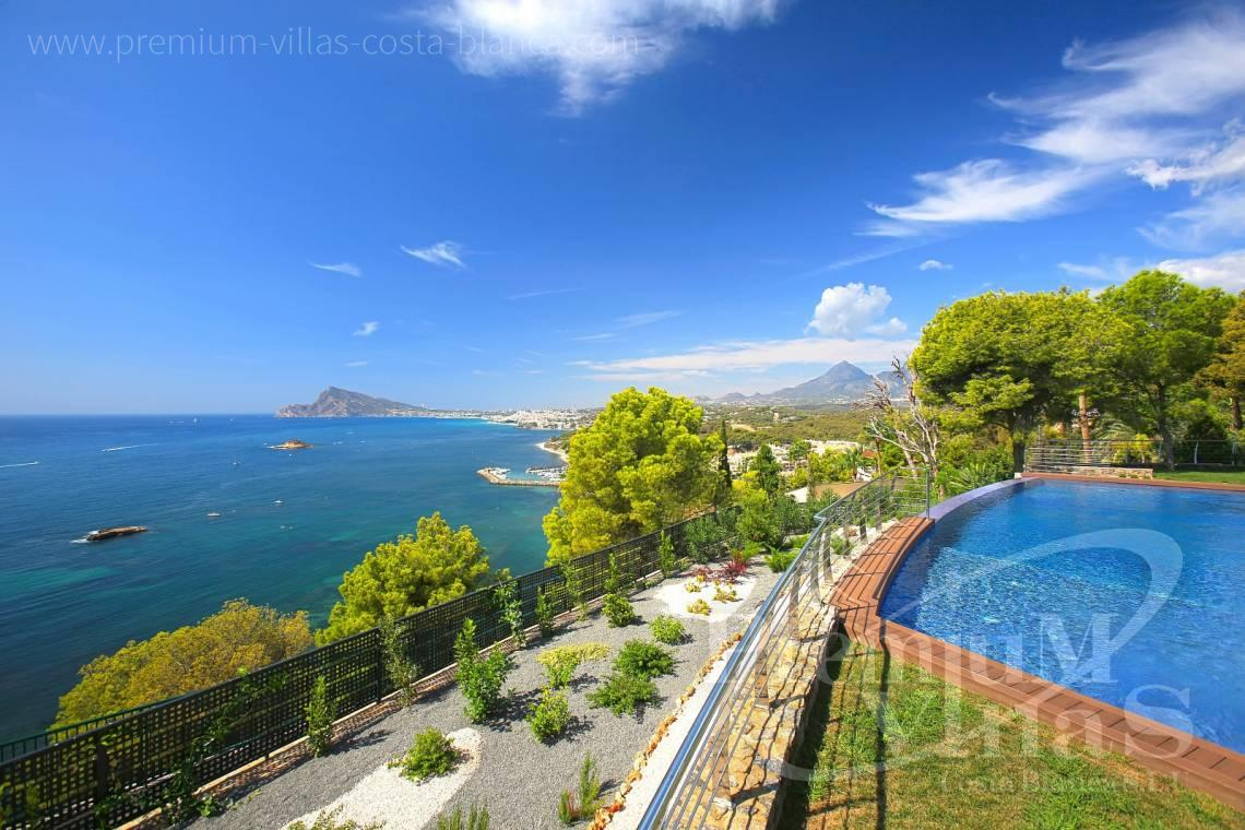 Buy front line villa house Altea Costa Blanca  - C1531 - Sea front villa in Altea! A unique luxury villa at the Costa Blanca 5