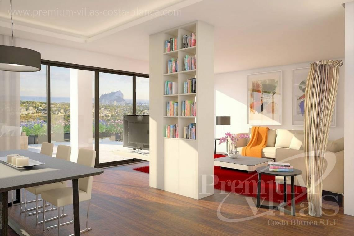 - C2390 - Modern villa with elevator and sea views in Calpe 8