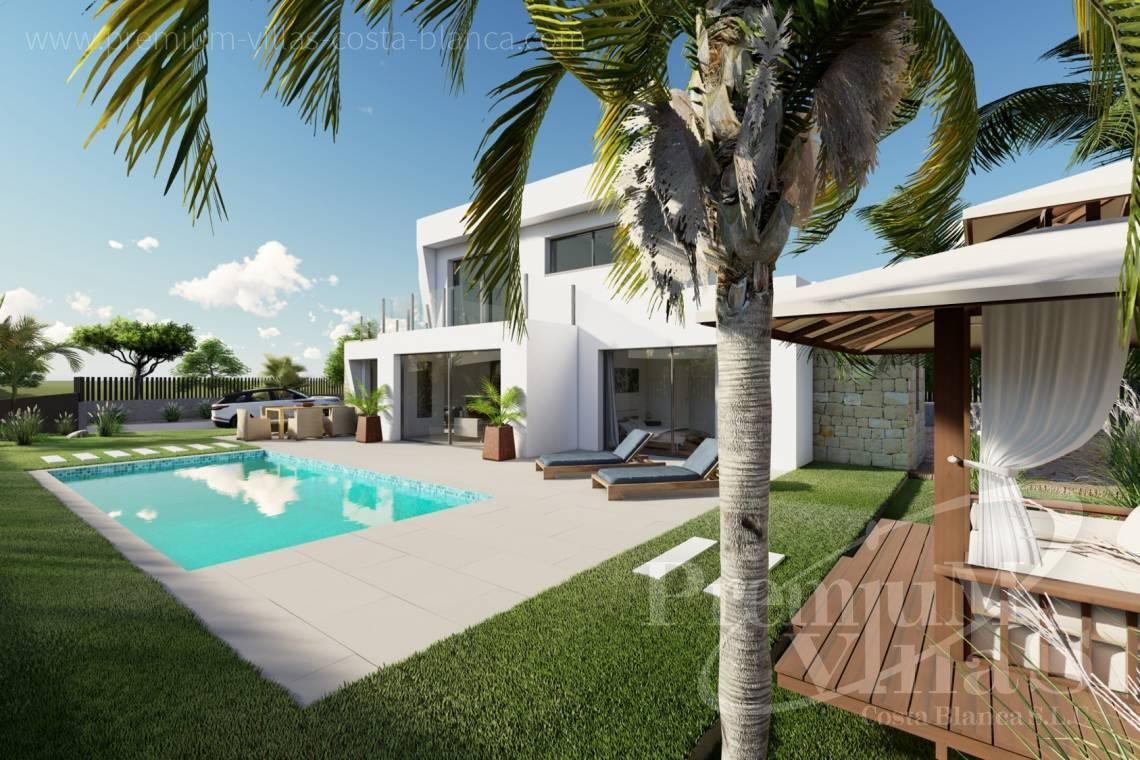 Villa for sale near the beach in Calpe Costa Blanca - C2312 - Modern 4 bedroom villa near the beach in Calpe 3